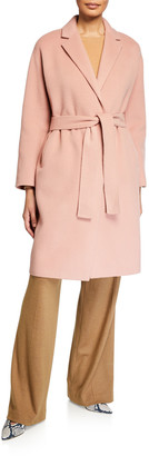 Vince Belted Wool Coat