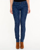 Le Château Jacquard Print Slim Leg Jeans