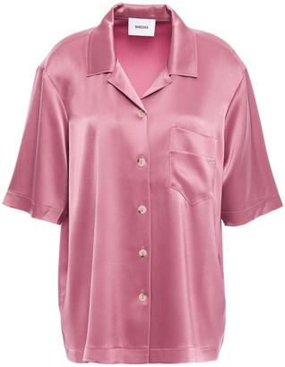 Nanushka Naraz Satin-crepe Shirt