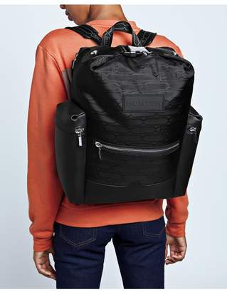 Hunter Refined Jacquard Top Clip Backpack