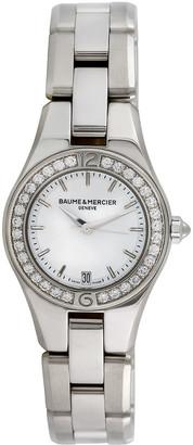 Heritage Baume & Mercier Baume & Mercier 2000S Women's Linea Dress Style Diamond Watch
