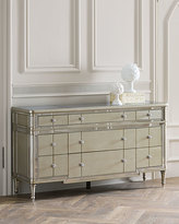 Hughe Mirrored Nine-Drawer Chest