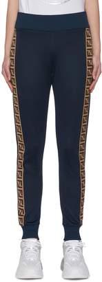 Fendi Sport 'Fendirama' logo webbing panel outseam jogging pants