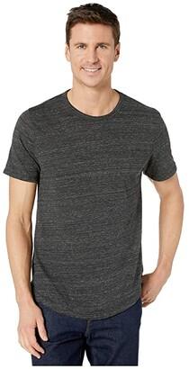 Alternative Eco Shirttail Tee (Eco Black) Men's Clothing