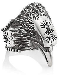Gucci Men's Anger Forest Sterling Silver Eagle Ring