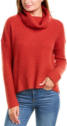 Forte Cashmere Textured Cashmere Sweater