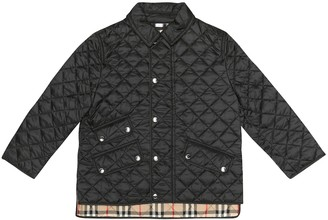 BURBERRY KIDS Quilted jacket