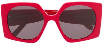 Courrèges Eyewear Square Tinted Sunglasses