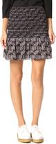 Derek Lam 10 Crosby Smocked Miniskirt