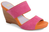 Johnston & Murphy Nisha Wedge Slide Sandal