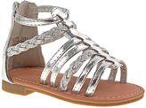 Laura Ashley Gladiator Sandal in Silver