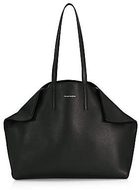 Alexander McQueen Women's Small Butterfly Leather Tote