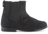 Little Marc Jacobs Black synthetic fur boots