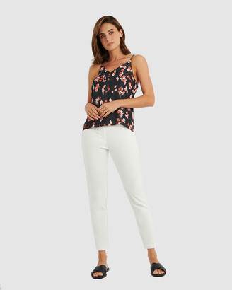 Forcast Women's Cami Tops - Tess Cami Top - Size One Size, 6 at The Iconic
