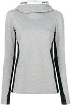 Paco Rabanne slim fit hoodie - women - Polyamide/Spandex/Elastane/Viscose - M