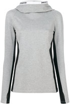 Paco Rabanne slim fit hoodie - women - Polyamide/Spandex/Elastane/Viscose - S