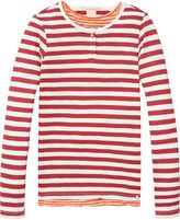 Scotch & Soda Two-In-One Striped T-Shirt