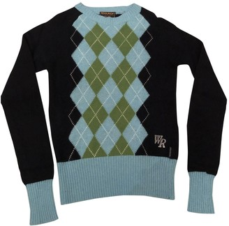 Woolrich Blue Wool Knitwear for Women