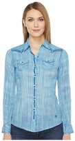 Ariat Ombre Fitted Snap Women's Long Sleeve Button Up