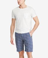 Denim & Supply Ralph Lauren Men's Slim Fit Floral-Print Cotton Chino Shorts