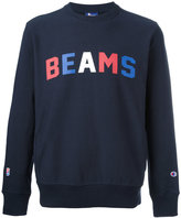 Champion 'beams' print sweatshirt - men - Cotton/Polyester - XL