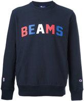 Champion 'beams' print sweatshirt