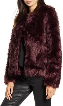 Chelsea28 Faux Fur Jacket
