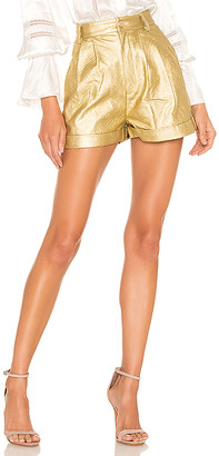 Divine Heritage Faux Leather Proper Cuffed Short