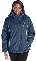Big Chill Women's Plus-Size 3-in-1 Systems Jacket