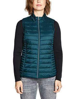Cecil Women's 220081 Outdoor Gilet, (Deep Atlantic Green 11750), Large
