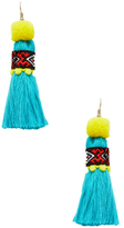 Shashi Vicky Tassel Statement Earrings