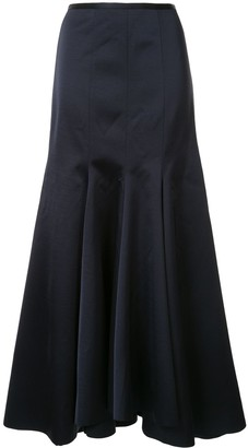 Acler Jervois A-line maxi skirt