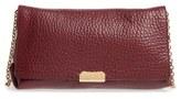 Burberry Medium Mildenhall Leather Shoulder Bag - Red