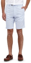 Maine New England Pale Blue Striped Shorts