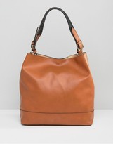 Asos Slouchy Bag With Wrap Detail Handle