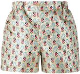 Miu Miu floral jacquard shorts