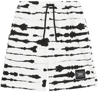 Burberry Watercolour-Print Shorts