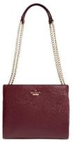 Kate Spade Emerson Place Mini Convertible Phoebe Leather Shoulder Bag - Black