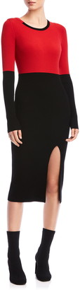 Bailey 44 Lenna Long Sleeve Midi Sweater Dress