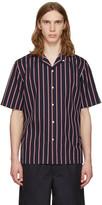Rag & Bone Navy Striped Glenn Shirt