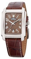 Kenneth Cole Reaction Kenneth Cole Men's KC1327 Reaction Brown Crocodile Watch