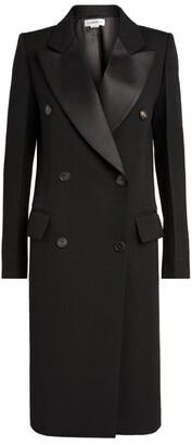 Victoria Beckham Double-Breasted Tuxedo Coat