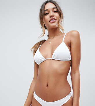 South Beach Exclusive mix and match hipster bikini bottom in white