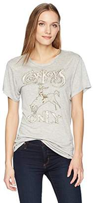 Haute Hippie Women's Cowboys ONLY TEE