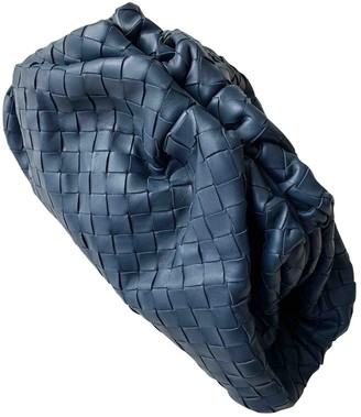 Bottega Veneta Pouch Blue Leather Clutch bags