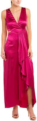 A.L.C. Cantor Silk-Blend Maxi Dress