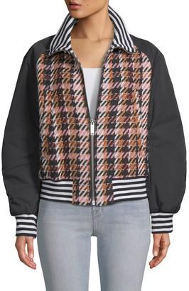 Public School Zita Plaid Jacket