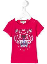 Kenzo logo print T-shirt - kids - Cotton/Spandex/Elastane - 6 mth
