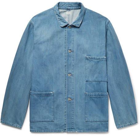 Chimala Distressed Denim Jacket