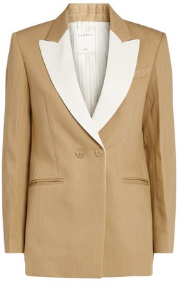 Sandro Paris Tailored Contrast Blazer
